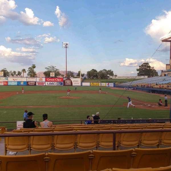 Cashman Field, Abschnitt: 8, Reihe: L