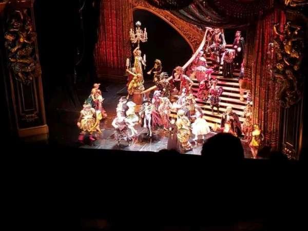 Majestic Theatre, Bereich: Rear Mezzanine R, Reihe: A, Platz: 2