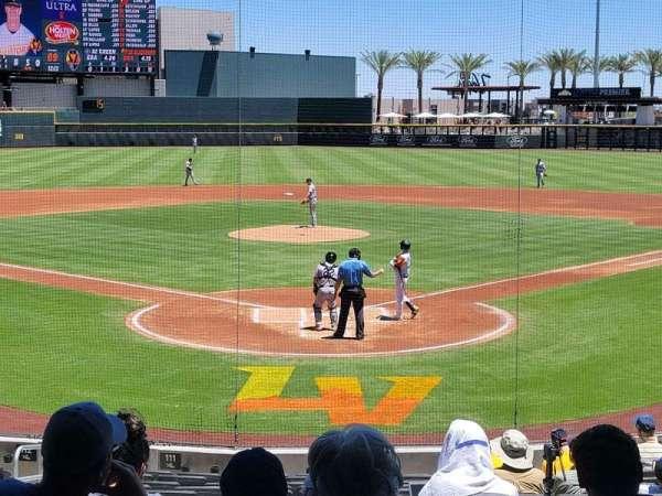 Las Vegas Ballpark, Bereich: 111, Reihe: T, Platz: 6