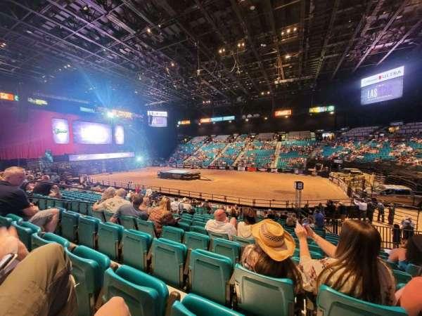 MGM Grand Garden Arena, Bereich: 9, Reihe: 8, Platz: 8