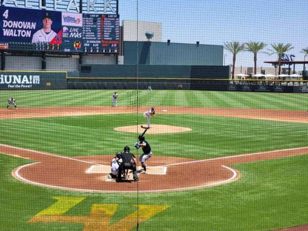 Las Vegas Ballpark, Bereich: 111, Reihe: P, Platz: 13