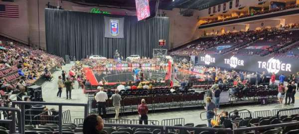 Orleans Arena, Bereich: 111, Reihe: D, Platz: 10