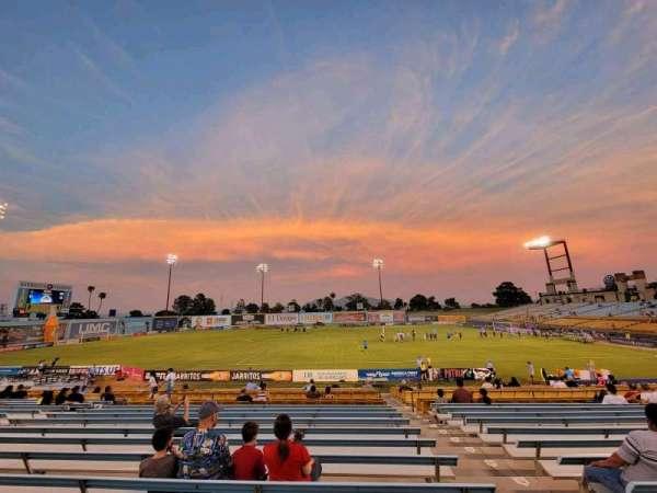 Cashman Field, Bereich: 6, Reihe: U