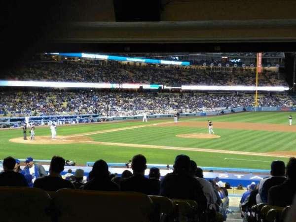 Dodger Stadium, Abschnitt: 20FD, Reihe: X