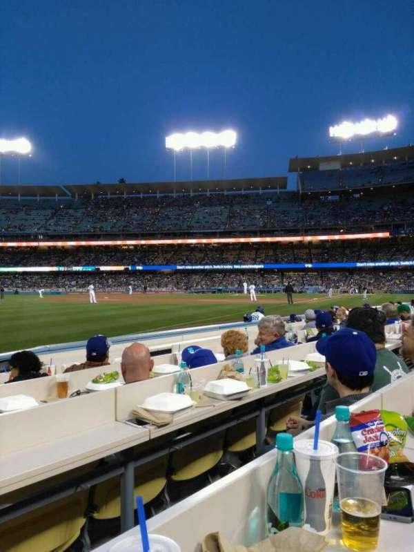 Dodger Stadium, Abschnitt: 43BL, Reihe: 6, Platz: 7