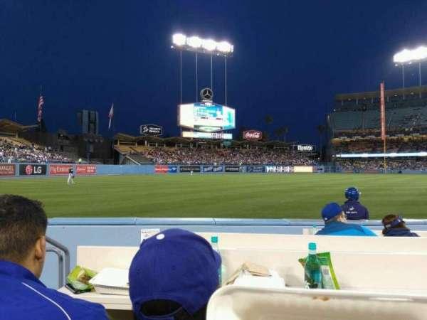 Dodger Stadium, Abschnitt: 43BL, Reihe: 6