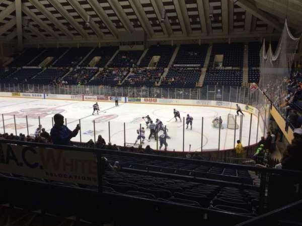 Macon Coliseum, Abschnitt: 219, Reihe: H, Platz: 2