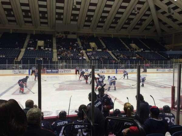 Macon Coliseum, Abschnitt: 23, Reihe: G, Platz: 1