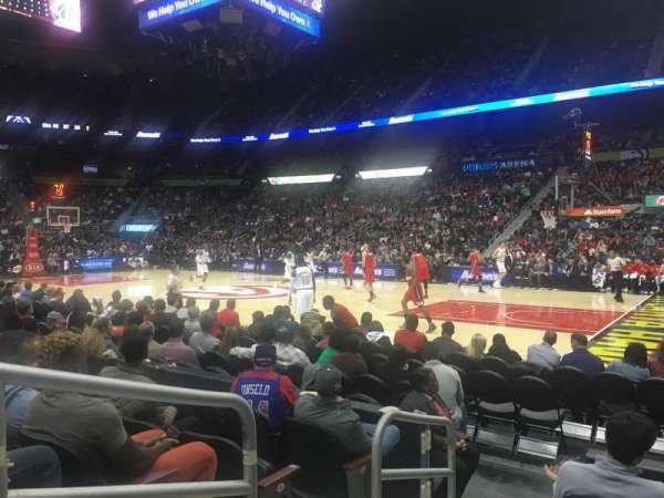 State Farm Arena, Abschnitt: 102, Reihe: E, Platz: 9-10