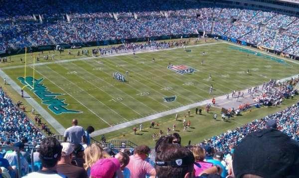 Bank of America Stadium, Abschnitt: 521