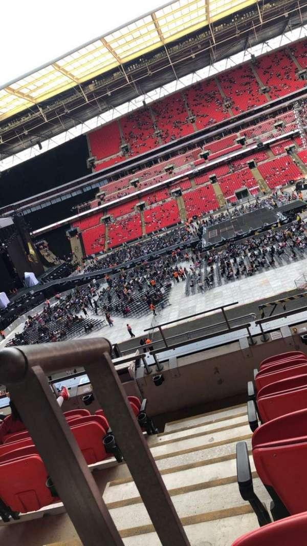Wembley Stadium, Abschnitt: 227, Reihe: 6, Platz: 12