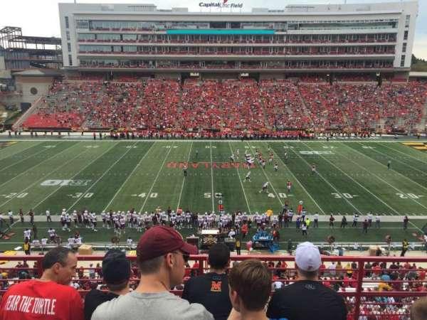 Maryland Stadium, Abschnitt: 206, Reihe: 4, Platz: 15
