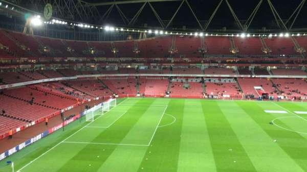 Emirates Stadium, Abschnitt: 114, Reihe: 1, Platz: 662