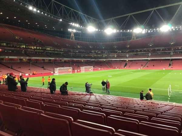 Emirates Stadium, Abschnitt: 1, Reihe: 19, Platz: 29