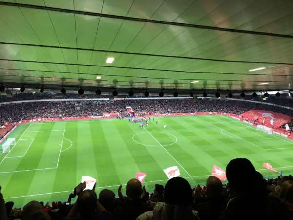 Emirates Stadium, Abschnitt: 114, Reihe: 30, Platz: 662