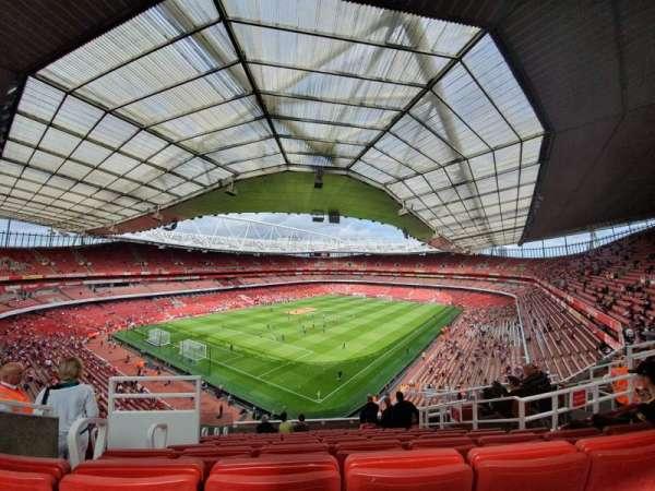 Emirates Stadium, Abschnitt: 119, Reihe: 12, Platz: 782