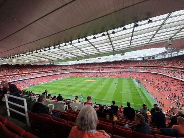 Emirates Stadium, Abschnitt: 110, Reihe: 13, Platz: 526