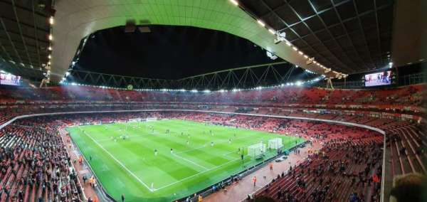 Emirates Stadium, Bereich: 106, Reihe: 2, Platz: 417
