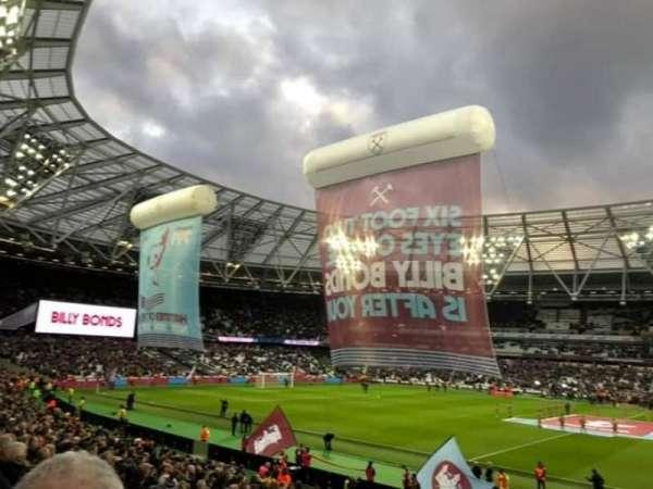 London Stadium, Abschnitt: 137 Block G, Reihe: 23, Platz: 225