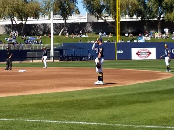 Maryvale Baseball Park, Abschnitt: 115, Reihe: b, Platz: 16