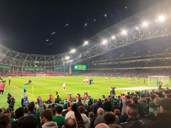 Aviva Stadium, Abschnitt: 117, Reihe: N, Platz: 21