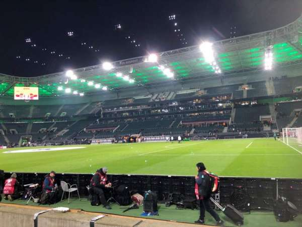 Borussia Park, Abschnitt: 12, Reihe: 3, Platz: 6