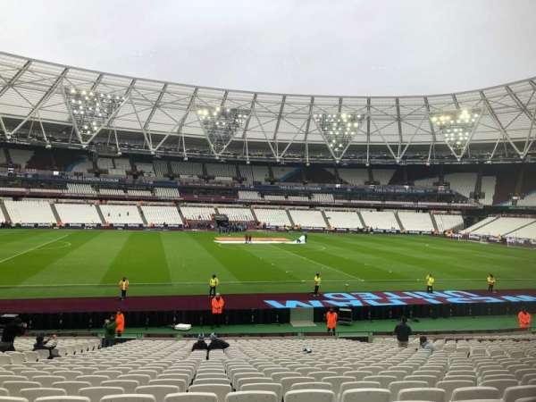 London Stadium, Abschnitt: 134, Reihe: 26, Platz: 301