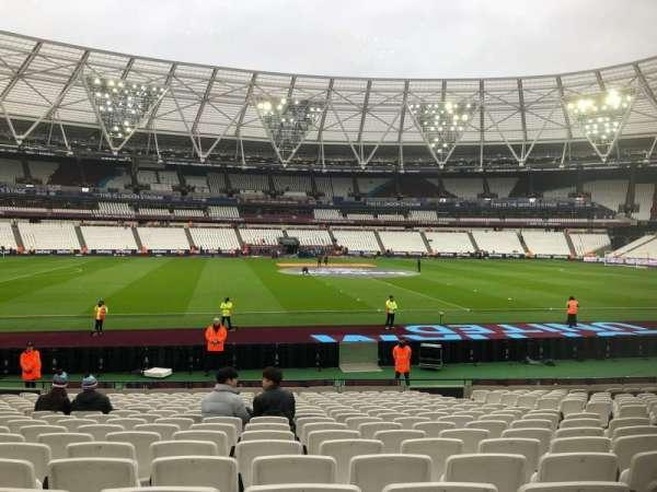 London Stadium, Abschnitt: 134, Reihe: 18, Platz: 294