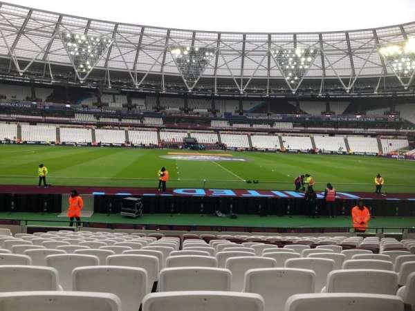 London Stadium, Abschnitt: 135, Reihe: 14, Platz: 274