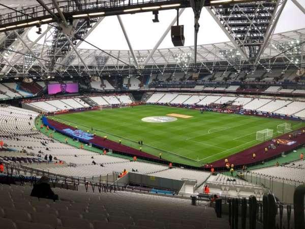 London Stadium, Abschnitt: 243, Reihe: 61, Platz: 218