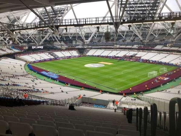 London Stadium, Abschnitt: 243, Reihe: 69, Platz: 218