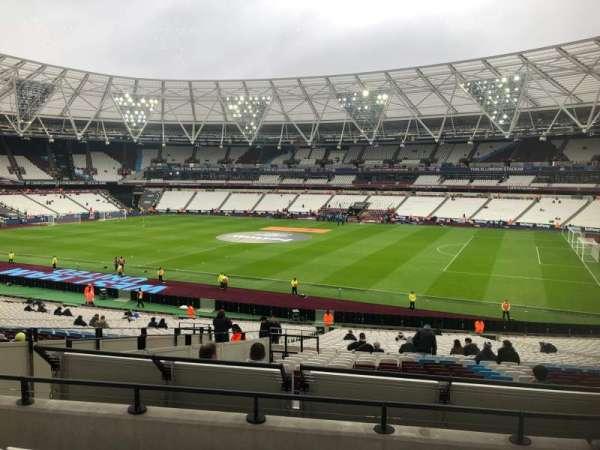 London Stadium, Abschnitt: 240, Reihe: 35, Platz: 319