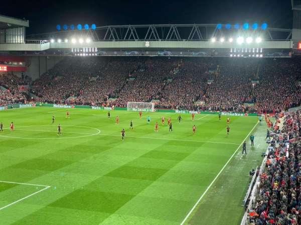 Anfield, Abschnitt: 221, Reihe: 3, Platz: 23