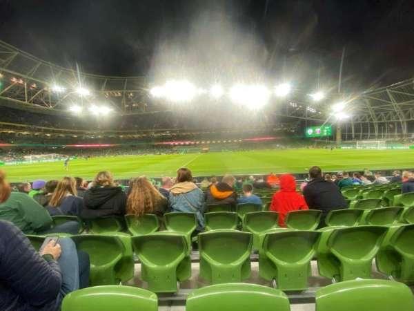 Aviva Stadium, Bereich: 104, Reihe: M, Platz: 20