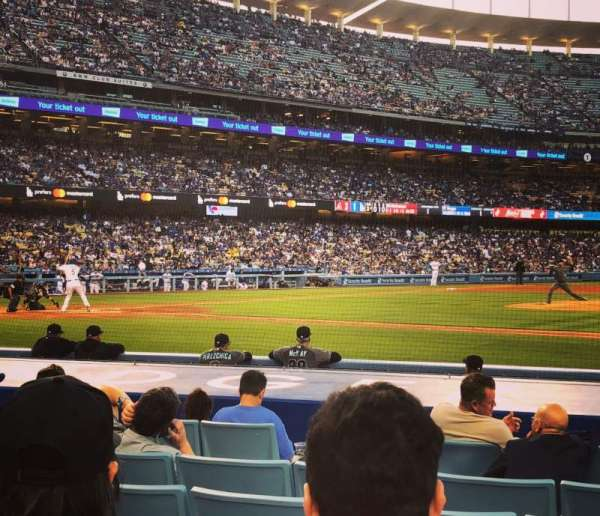 Dodger Stadium, Abschnitt: Field Box MVP 20, Reihe: C