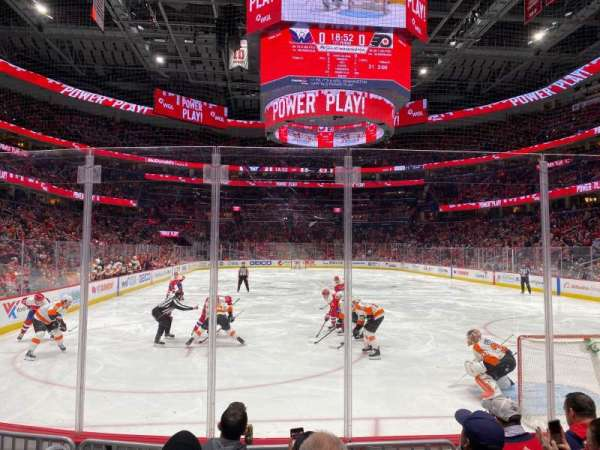 Capital One Arena, Abschnitt: 105, Reihe: E, Platz: 2