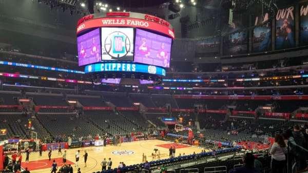 Staples Center, Abschnitt: PR16, Reihe: 2, Platz: 6