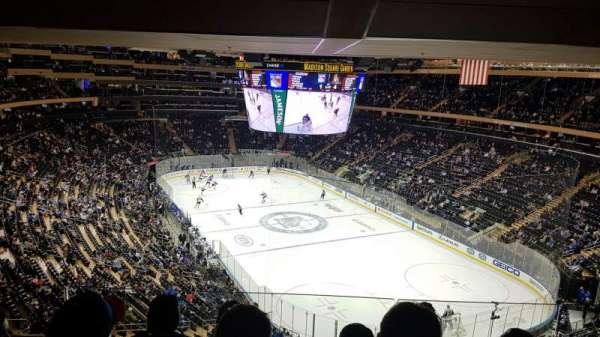 Madison Square Garden , Abschnitt: 414, Reihe: 4, Platz: 14