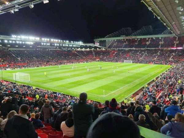 Old Trafford, Abschnitt: E239, Reihe: 22, Platz: 7