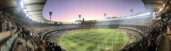 Melbourne Cricket Ground, Abschnitt: Q5, Reihe: H, Platz: 13