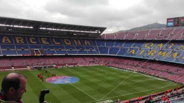 Camp Nou, Abschnitt: 332, Reihe: 25, Platz: 02