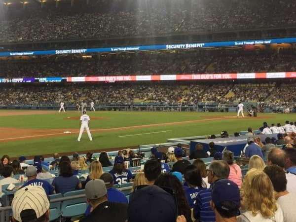 Dodger Stadium, Abschnitt: 31FD, Reihe: G, Platz: 3