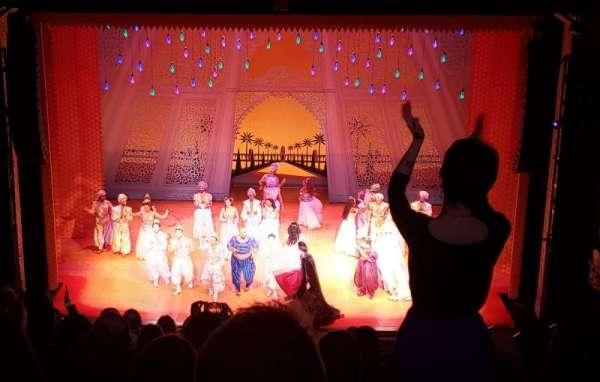 Hippodrome Theatre, Abschnitt: Center Middle Balcony, Reihe: L, Platz: 310