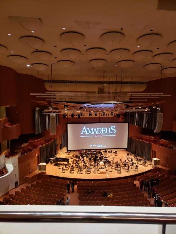 Joseph Meyerhoff Symphony Hall, Abschnitt: Terrace Center Left, Reihe: A, Platz: 121