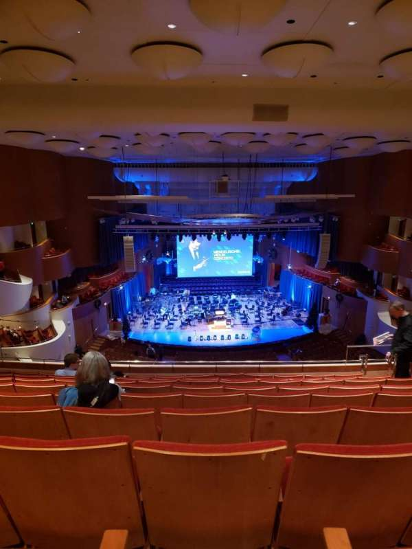 Joseph Meyerhoff Symphony Hall, Abschnitt: Terrace Center Left, Reihe: J, Platz: 109