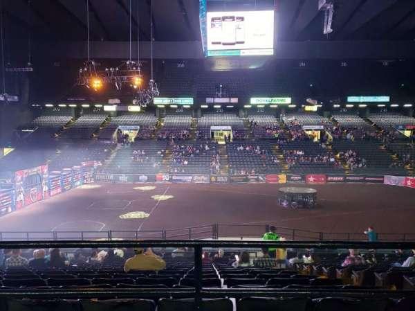 Royal Farms Arena, Abschnitt: 209, Reihe: A , Platz: 13