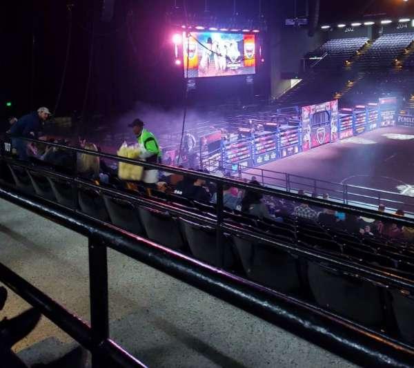 Royal Farms Arena, Abschnitt: 209, Reihe: A, Platz: 13