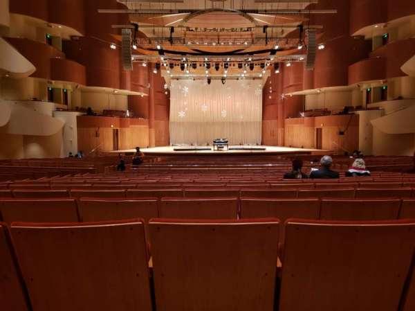 Joseph Meyerhoff Symphony Hall, Abschnitt: Center Orchestra, Reihe: HH, Platz: 108