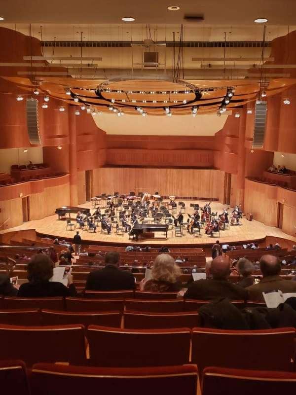 Joseph Meyerhoff Symphony Hall, Abschnitt: Grand Tier Center RIght, Reihe: J, Platz: 108
