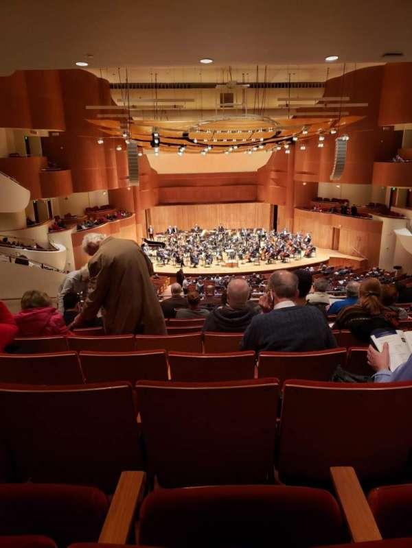 Joseph Meyerhoff Symphony Hall, Abschnitt: Grand Tier Center Left, Reihe: J, Platz: 119